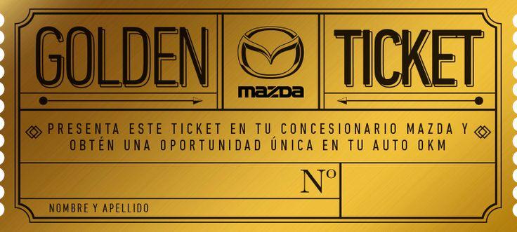Mazda Golden Ticket