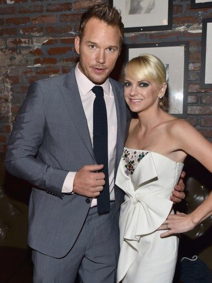 "Chris Pratt cozies up to wife Anna Faris at the ""Guardians of the Galaxy"" premiere afterparty"
