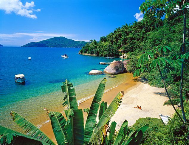First party in Rio, then Paraty while in Brazil