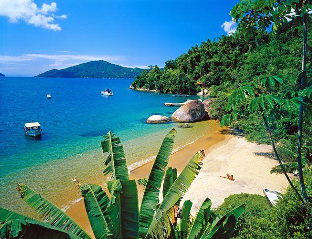 Brazil - Paraty on Costa Verde