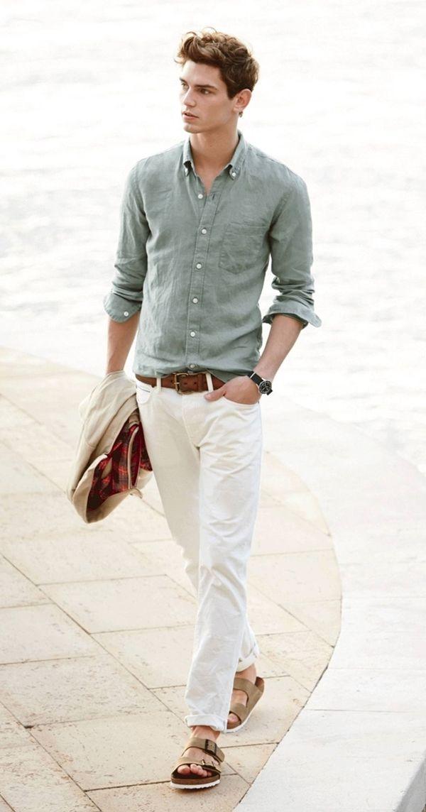 45 Coolest Summer Looks for Taller Men   gwapo look   Preppy