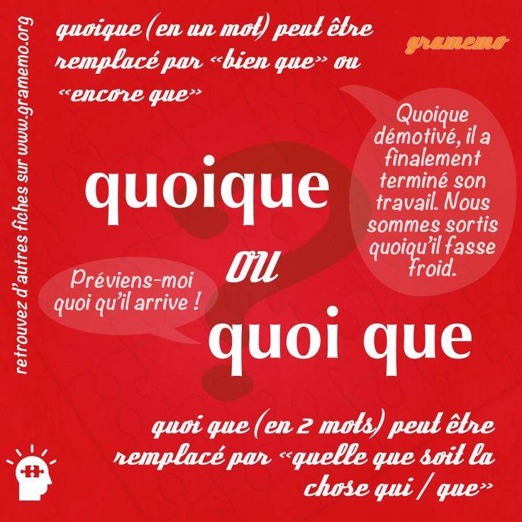 """""""Quoique"""" ou """"quoique"""""""