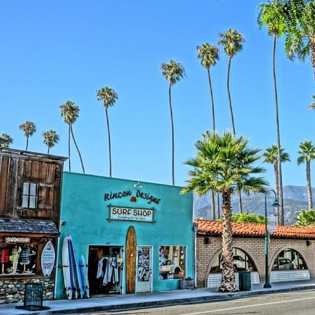 Rincon surf shop California - Rincon Surf shop in Carpinteria California.
