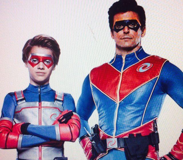 Kid Danger / Henry Hart and Captain Man   kid danger and ...