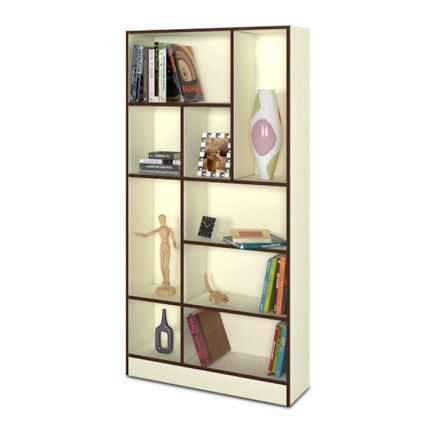 Forzza Thames Book Shelf Frosty White,Living Room Furniture Sale