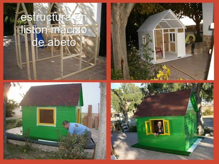 Casas de madera para ni os precios buscar con google for Casa jardin ninos
