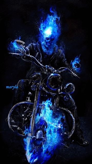 Download Ghost Rider Mobile Screensavers for your cell phone