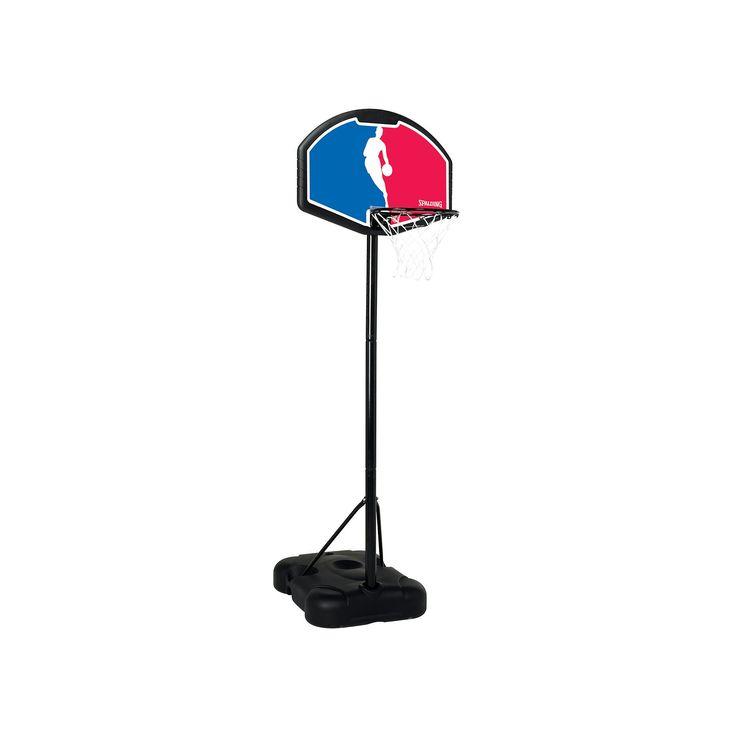 Spalding 32-in. Eco-Composite NBA Portable Basketball Hoop - Youth, Multicolor