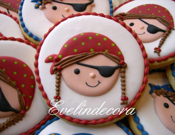 biscotti pirata ghiaccia reale Evelindecora