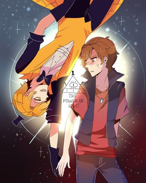 Imagem de bill cipher, gravity falls, and dipper pines