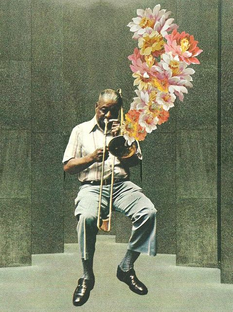 El Jazz (collage) / Mike Apichella. Veja mais em…