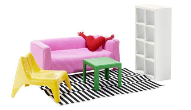 Ikea meubilair op poppenhuisformaat - Roomed