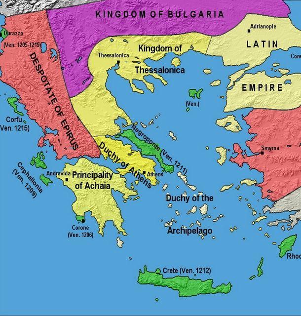 Greek history map