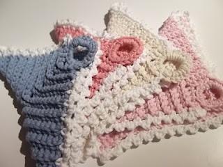 Lovely dishcloths to crochet