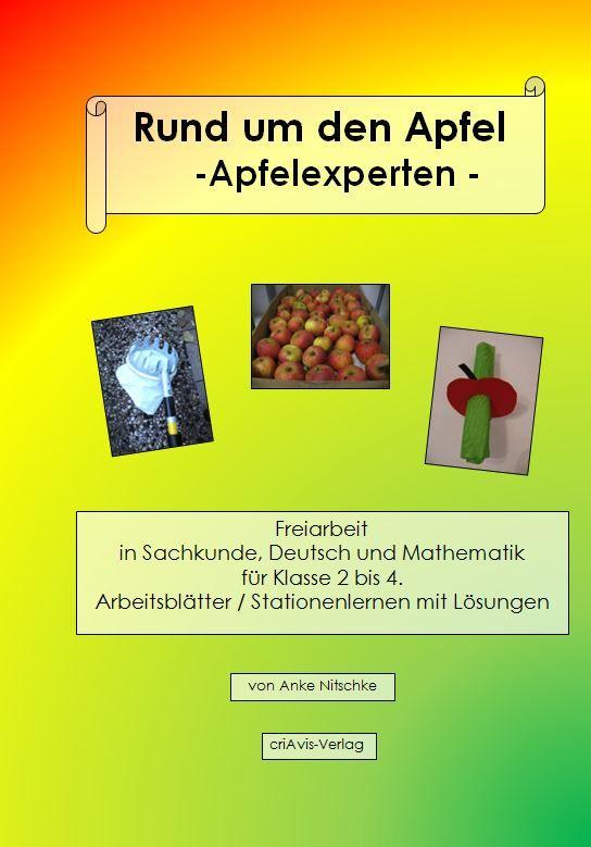 Rund um den Apfel - Apfelexperten- Buch Grundschule, Unterrichtsmaterial, Sachunterricht, Apfel, Äpfel, Natur, Baum