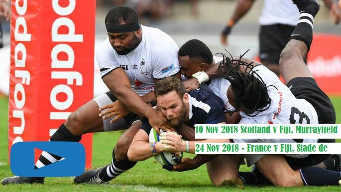 Watch Scotland Vs Fiji Rugby Live Streaming Flying Fijians Scottish Rugby Autumn Tests Stream Online In Edinburgh On 10t Rugby Scottish Rugby Rugby World Cup