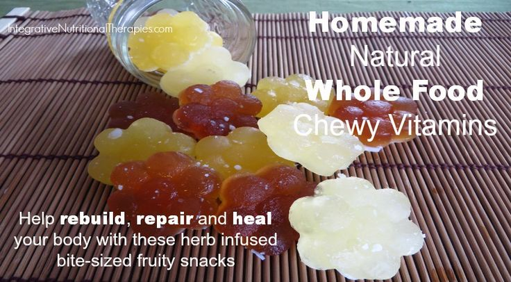 Homemade Natural Whole Food Chewy Vitamins -