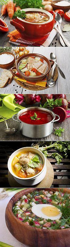 классические рецепты супов