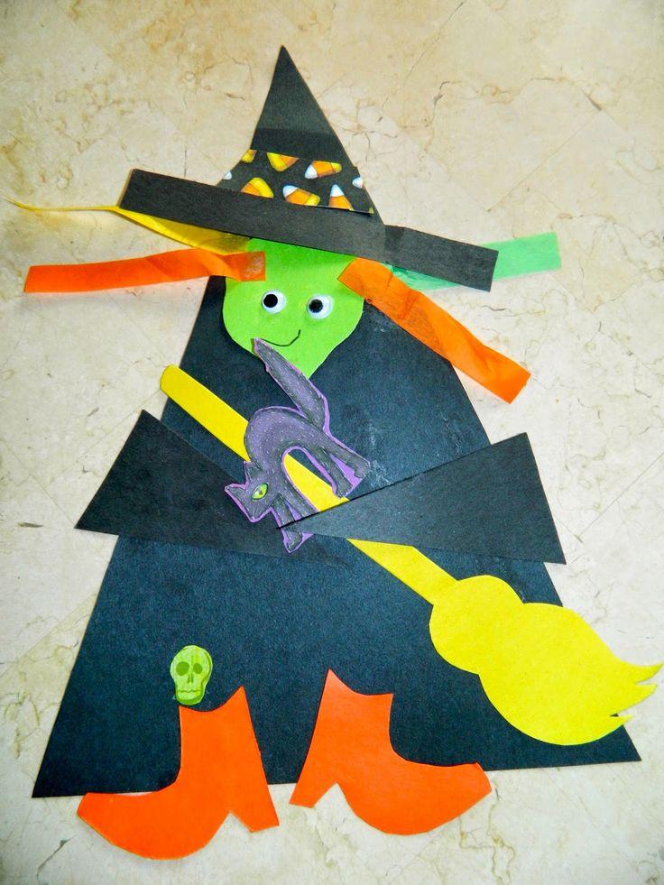 Terrific pré-escolar Anos: Halloween Comemorando