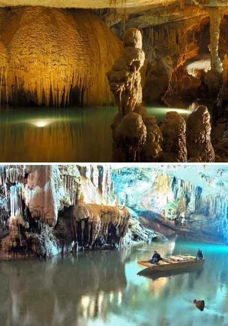 New 7 Wonders of Nature:  Jeita Grotto - Lebanon One of the most beautiful places I've seen in my life. Magical and peaceful