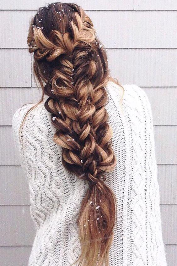 Прически на выпускной длинные волосы