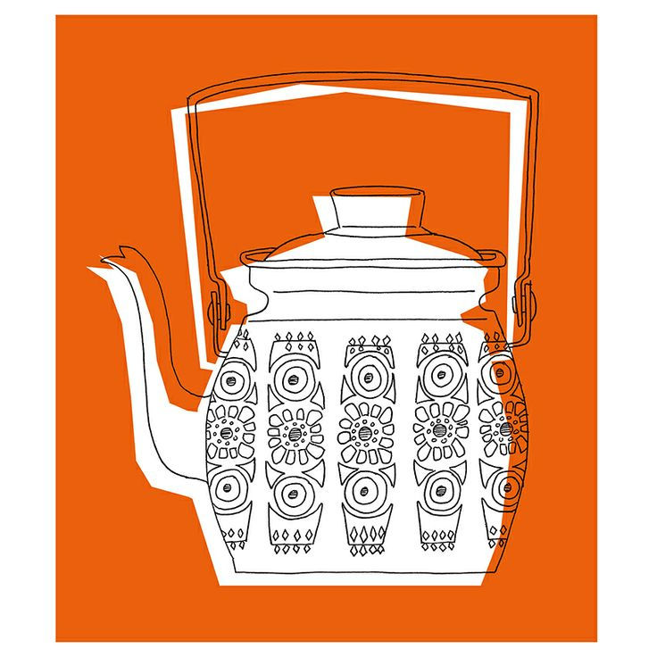 'Teapot' from the Sketchbook Series by Heather Moore