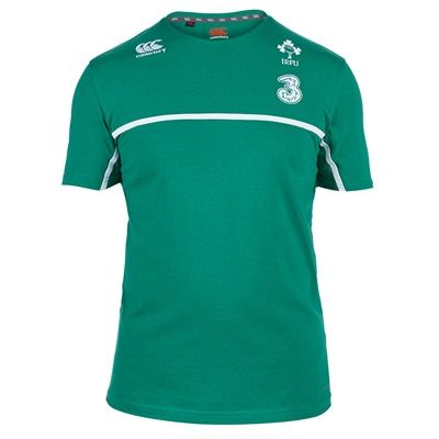 Ireland Rugby Cotton Training T-Shirt Green: Ireland Cotton Training T-Shirt - Green The Ireland cotton… #Sport #Football #Rugby #IceHockey