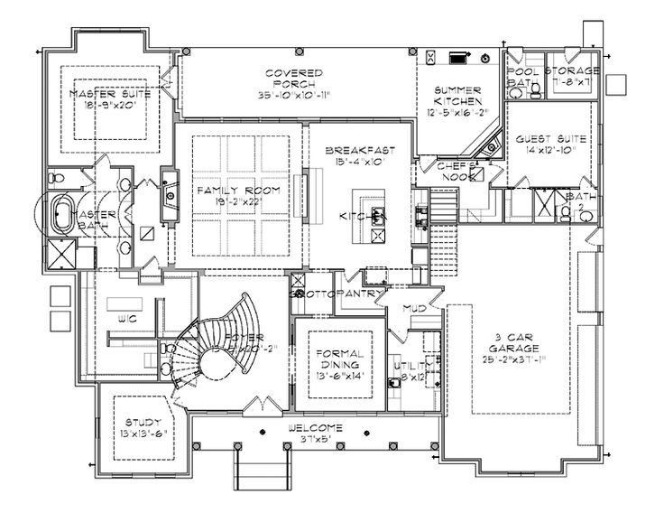 1000 ideas about plantation floor plans on pinterest for Plantation floor plan