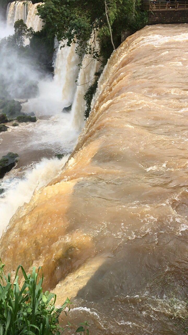 Up close and personal - Iguacu