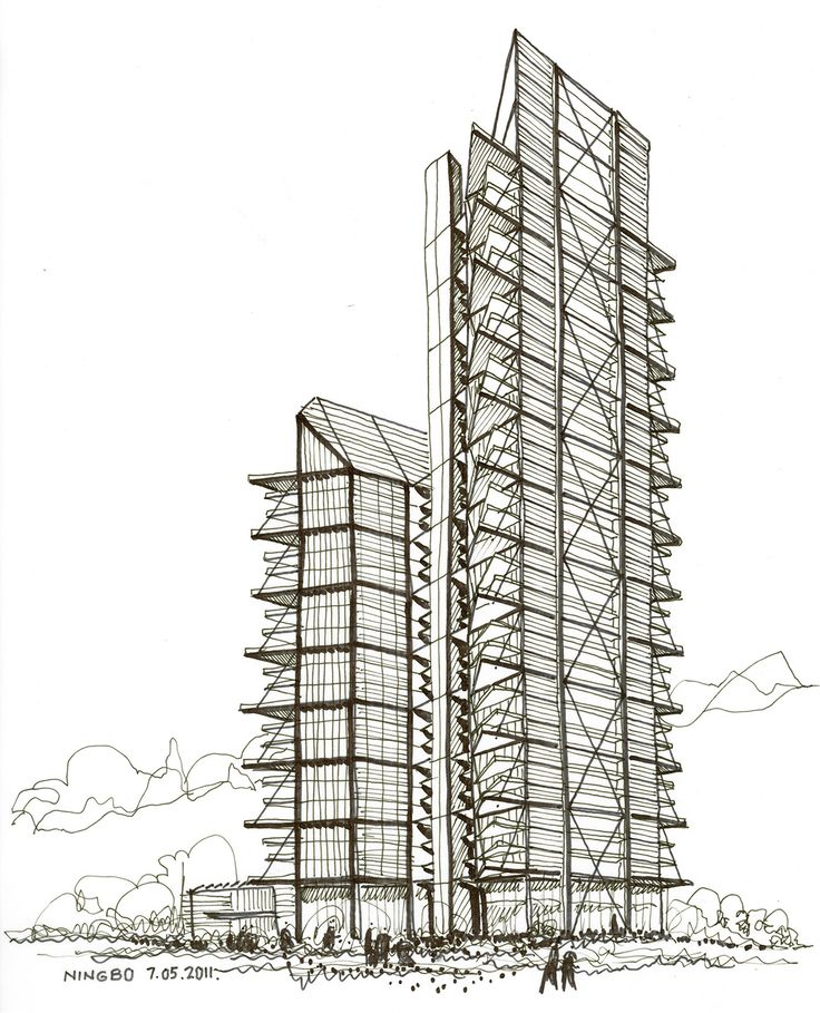2469 best images about architectural drawings models on for Architecture sketch
