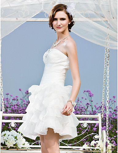 BRITTA - Kleid für die Braut aus Organza und Tafft - EUR € 107.24