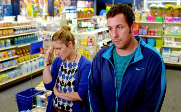 'Blended': Adam Sandler and Drew Barrymore on an African adventure (review)