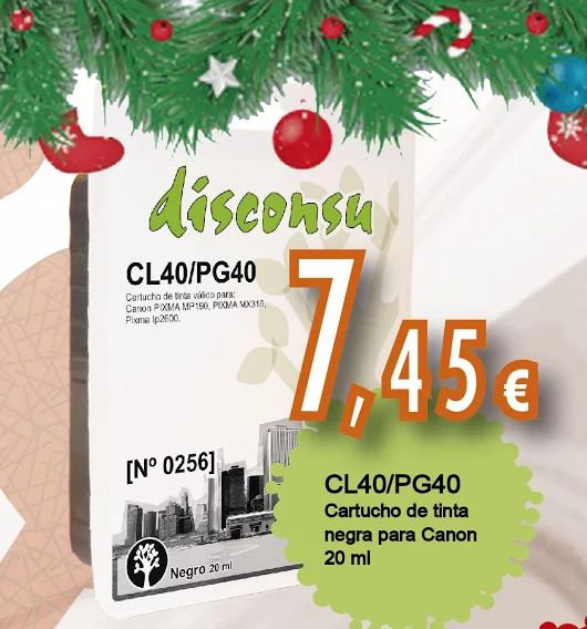 #Cartuchos de #tinta #compatibles con #impresoras #Canon