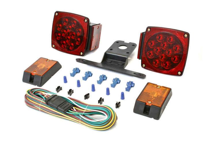 LED Stop Trailer Light Kit (12 volt) Lights Truck Trailer Boat Brake License new #MaxxHaul
