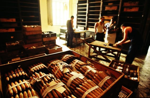 Cuban cigars visitor's guide