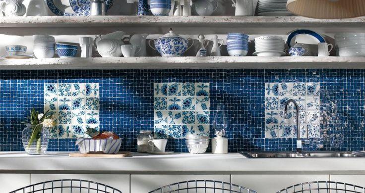 Oltre 1000 idee su piastrelle cucina stile metropolitana - Cucine con maioliche ...