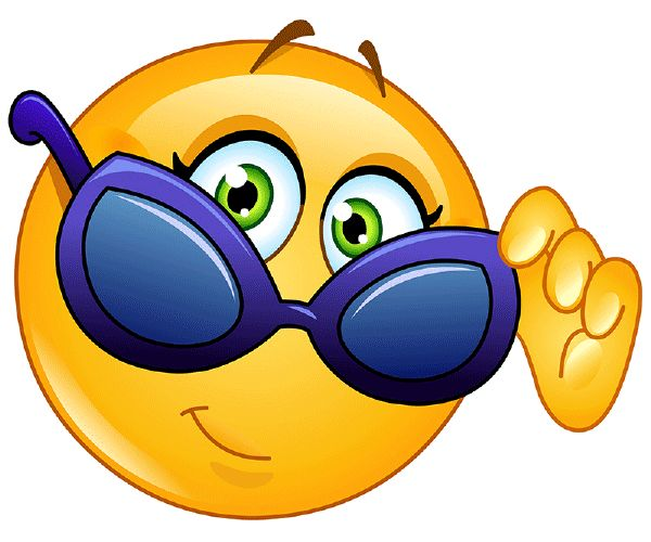 Smiley mit Brille                                                                                                                                                                                 Mehr