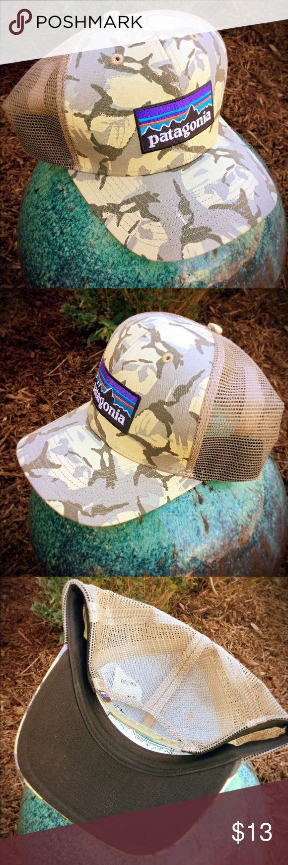 Patagonia Camo Hat - NWOT Crisp, clean, new without tags. SnapBack trucker style. Patagonia Accessories Hats