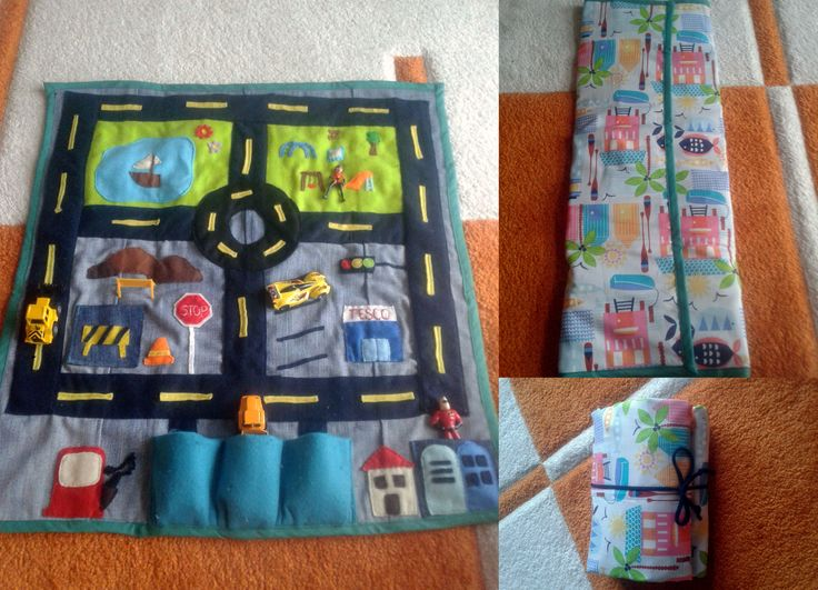 sewing car mat