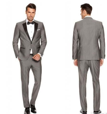 Suits For Men Formal Suit Groom Tuxedos Tailcoat Jacket Pants Tie Prom