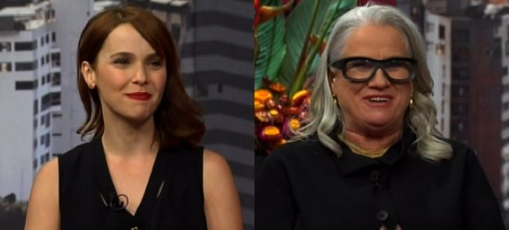 Débora Falabella y Vera Holtz De 'Avenida Brasil' Entrevistadas En 'Ventaneando' (VIDEO)   NovelaLounge.com