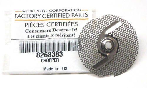 Whirlpool Kitchenaid Dishwasher Chopper Blade WP-8268383 AP6012235 PS11745442