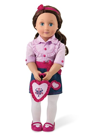 Our Generation Doll Cute Valentine S Outfit Idea