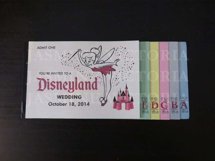Wedding Invitations Disney: 17 Best Ideas About Disney Invitations On Pinterest
