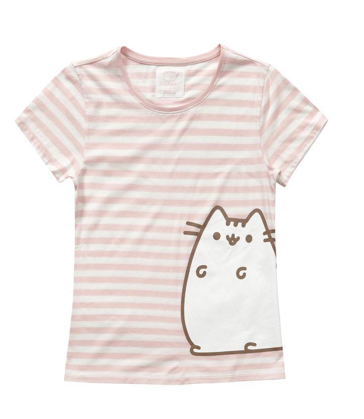 Pusheen cotton pyjama in pink