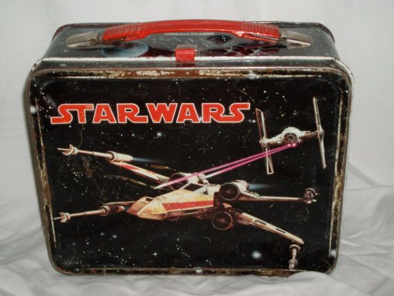 Star Wars lunch box .... 101 Vintage Lunch Boxes That Will Make You Want To Be A Kid Again