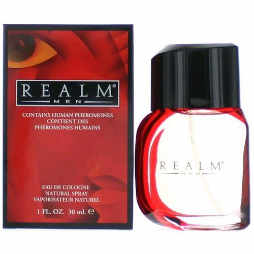 Realm by Erox, 1 oz Eau De Cologne Spray for Men with Human Pheromones
