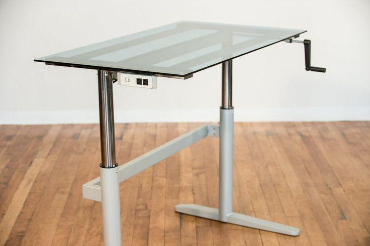 Best 25 Adjustable Height Desk Ideas On Pinterest