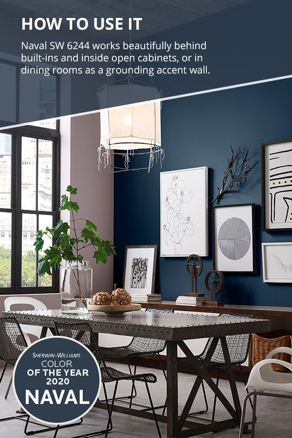 Grounding Empowering Serene Nourishing The Sherwin Williams 2020 Colo Accent Walls In Living Room Blue Accent Wall Living Room Paint Colors For Living Room