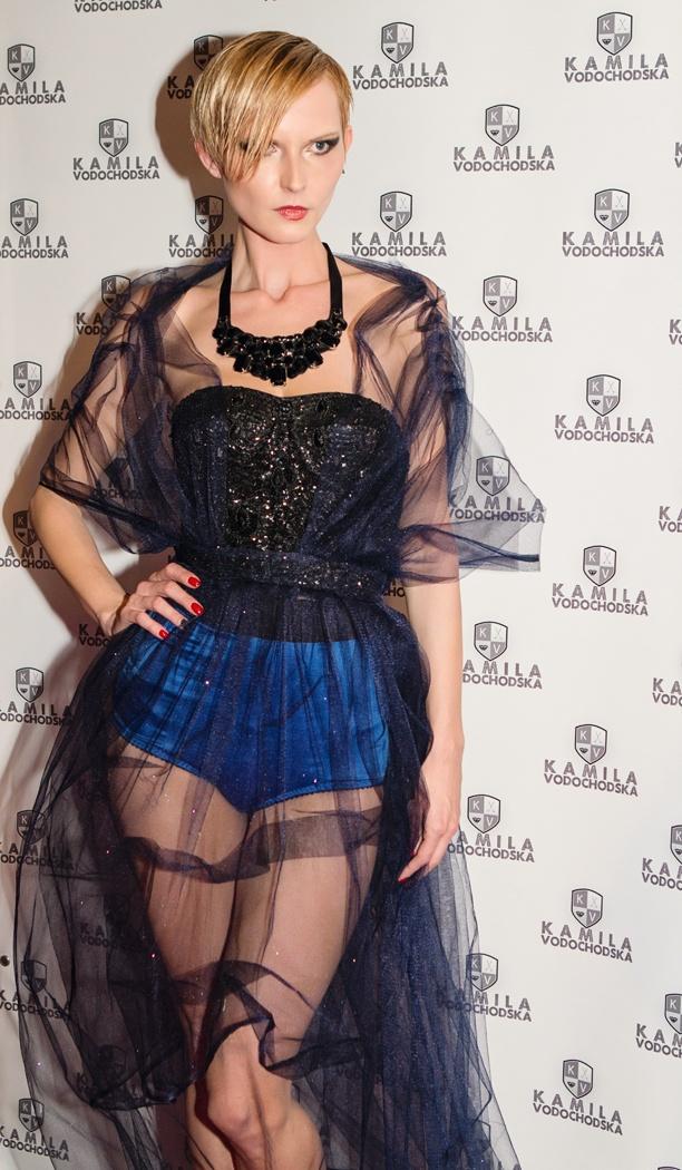 @ Kamila Vodochodska Punk Fatale fashion show at K.U.Bar.Lounge